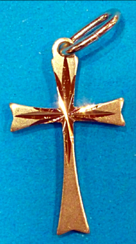 Sunbeam Silver Cross Pendant